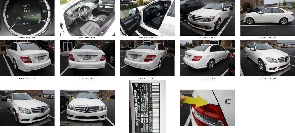 MERCEDES C300 DIMINISHED VALUE