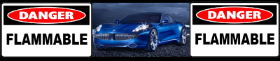 fisker karma danger flammable fire