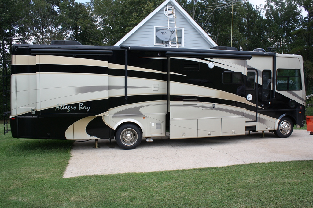 2008 allegro allegro bay series m 37qdb freightliner for Allegro home