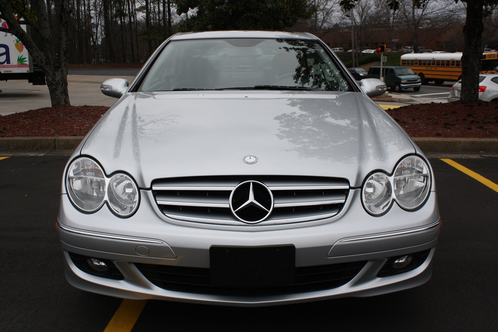 2008 mercedes benz clk350 coupe diminished value car