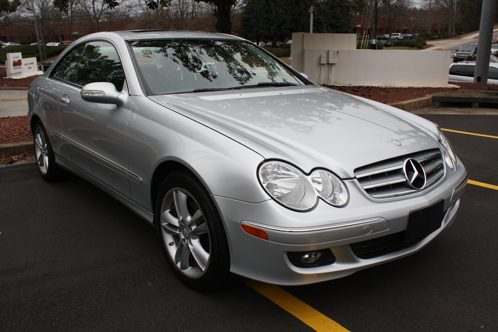 2008 mercedes benz clk350 coupe diminished value car for Mercedes benz clk 2013