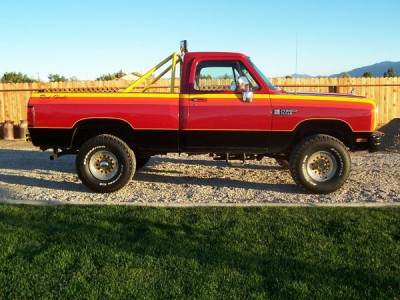 Dodge Rod Hall Signature Edition X on 1977 Dodge Power Wagon Macho 1
