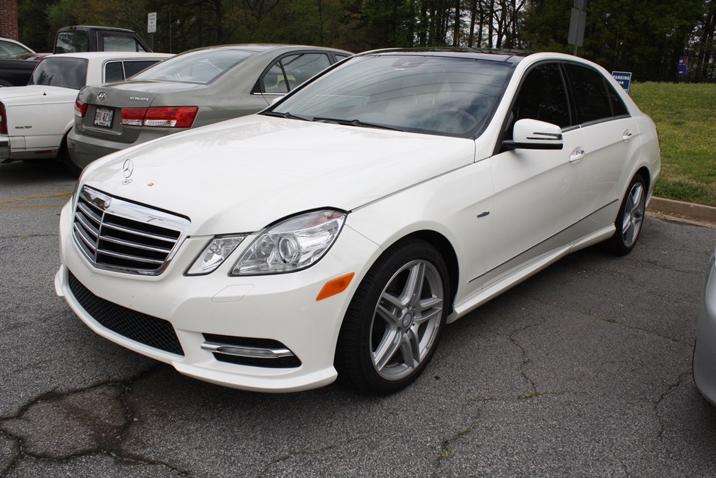 2012 mercedes benz e350 sport sedan diminished value car