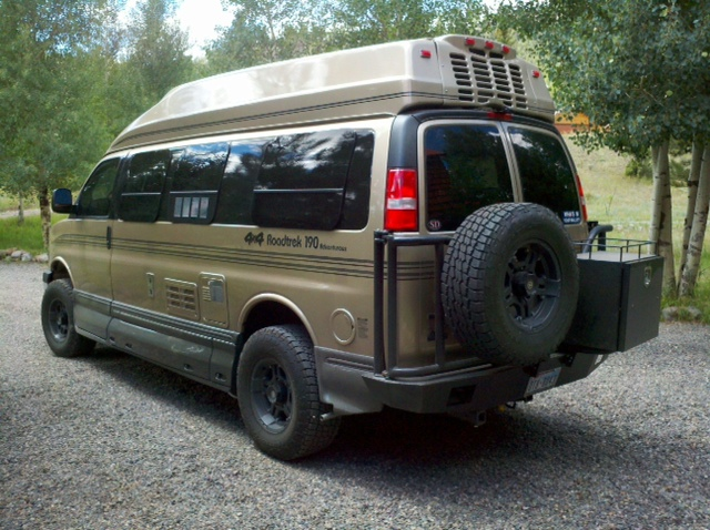 Simple SOLD 1991 Ford E350 4x4 Airstream 190 Class B Van Motorhome Baja SOLD