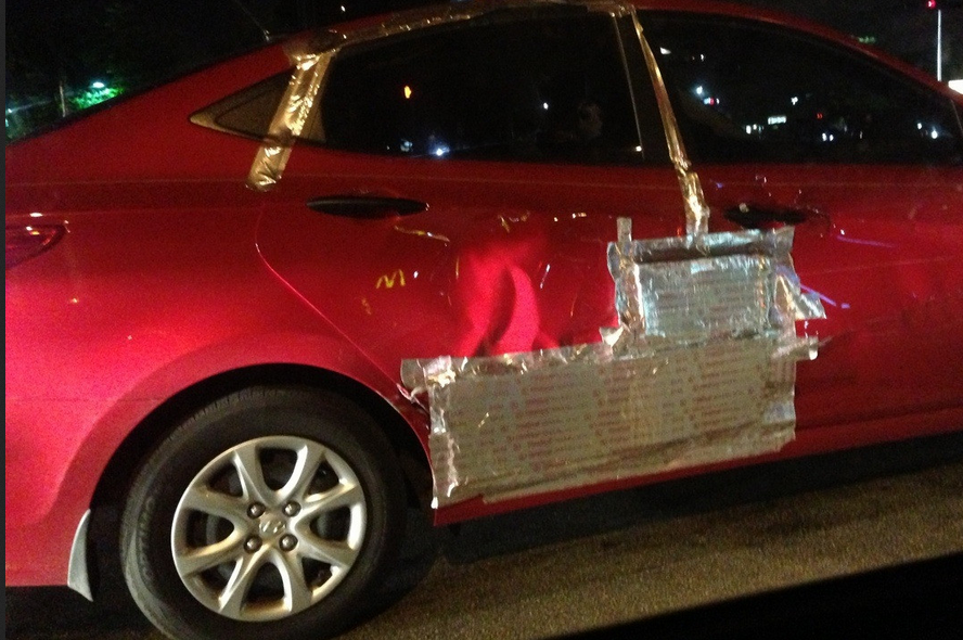 Vehicle Band Aid Repair Duct Tape
