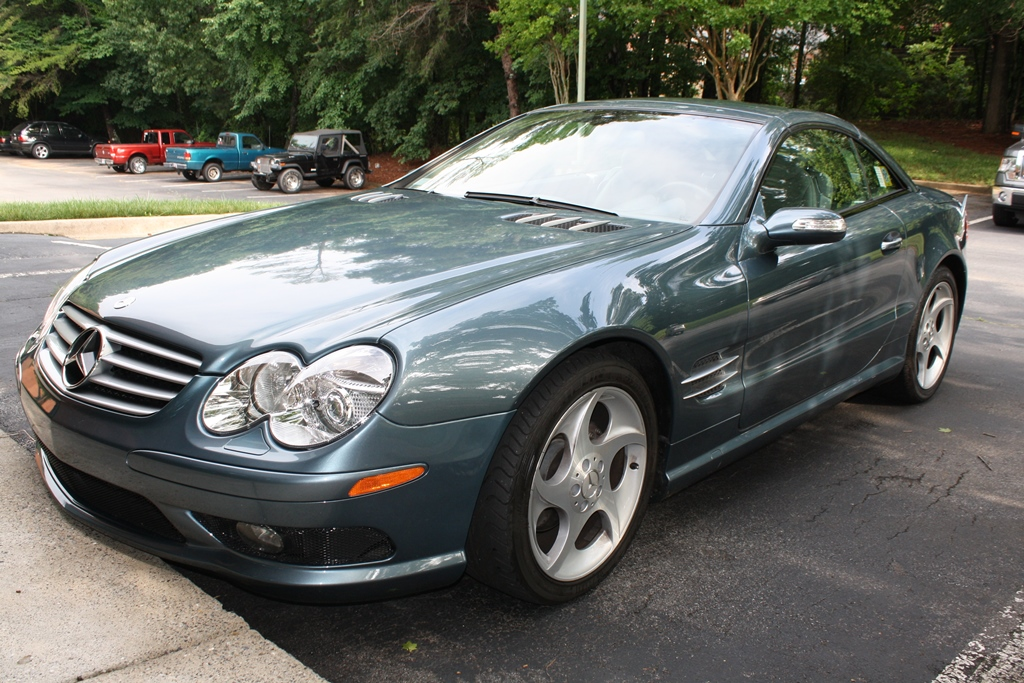 2005 mercedes benz sl500 11