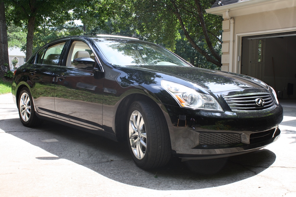 2009 infiniti g37 base 4d sedan diminished value car. Black Bedroom Furniture Sets. Home Design Ideas