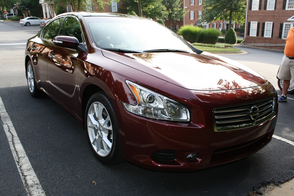2012 Nissan Maxima Sv 4d Sedan Diminished Value Car