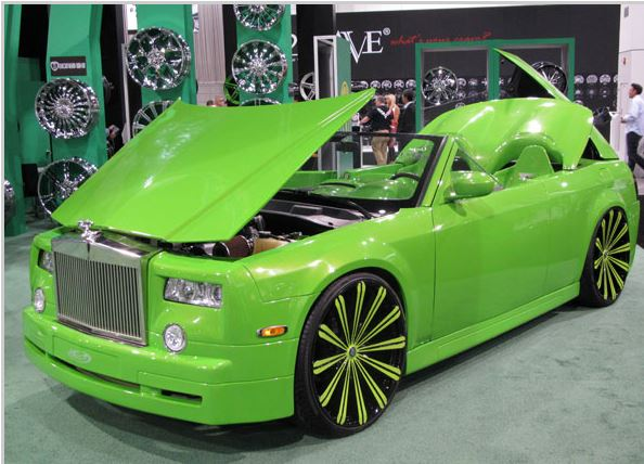 Ugly Cars Of Sema 2013 Diminished Value Car Appraisal