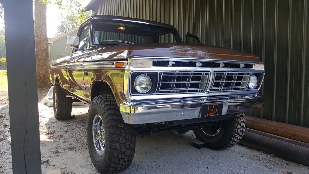 1976 Ford F250 Ranger Fully Restored