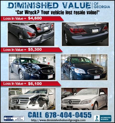 georgia diminished value law diminished value auto appraisals insurance claims 16921