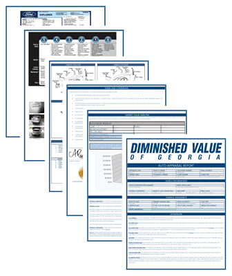 diminished value car appraisal documents