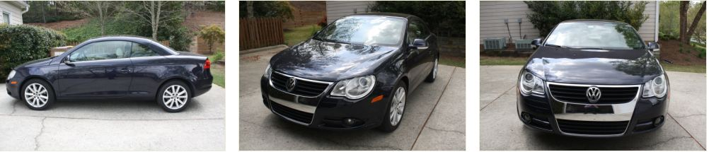 2008 VW Eos Loss in Value