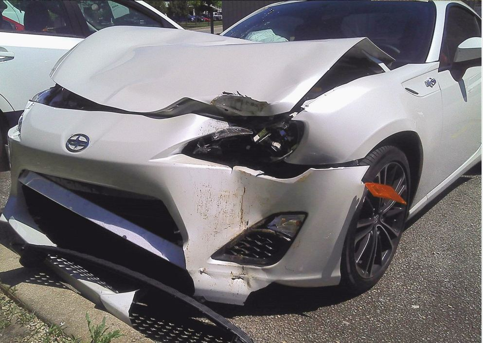 scion fr-s wreck front
