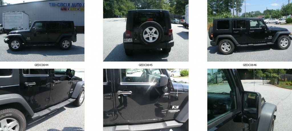 2008 Jeep Wrangler Unlimited Diminished Value Auto Appraisal