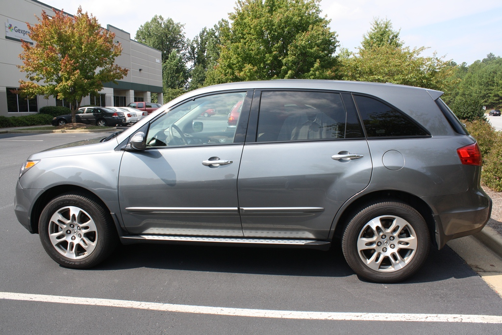 2009 Acura Mdx Base 4d Suv W Technology