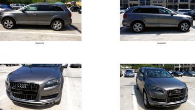 Audi Q7 Diminished Value
