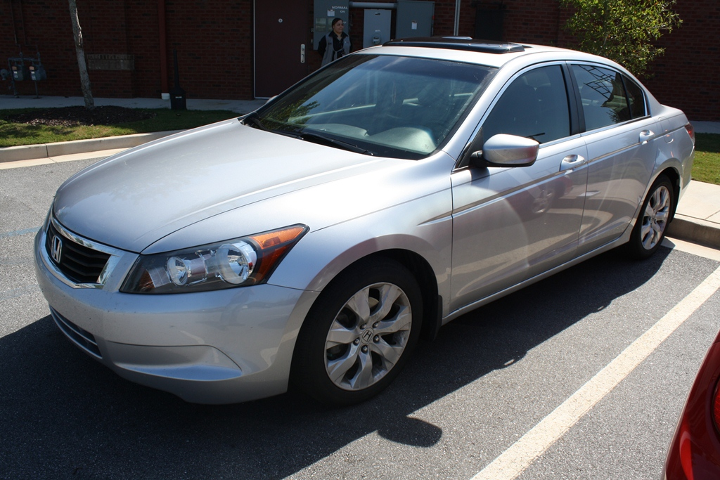 2008 Honda Accord Ex L 4d Sedan Diminished Value Car