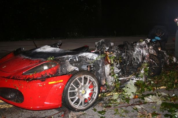 Ferrari Burnt Totaled Diminished Value Georgia Car Appraisals For Insurance Claims