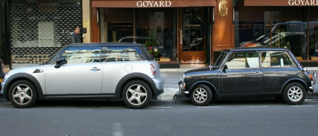 Mini cooper size increase