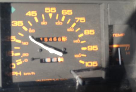 broken odometer