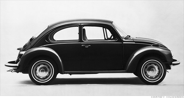 VW Beetle Generations | Diminished Value Car Appraisal