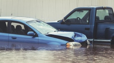 hurricane sandy flooded cars