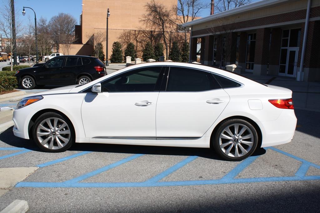 2013 Hyundai Azera 4d Sedan Diminished Value Car Appraisal