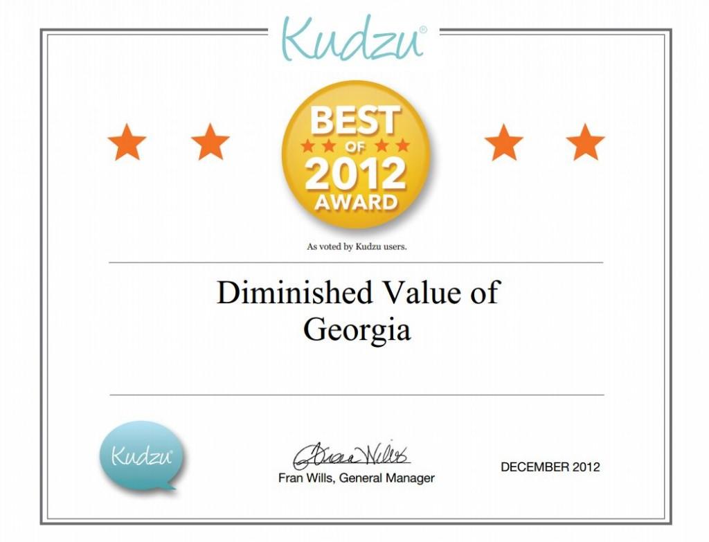Best of Kudzu Award