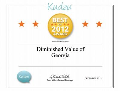 Best of Kudzu Award 2012