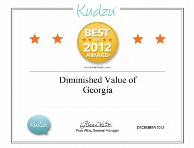 Best of Kudzu Award 2012