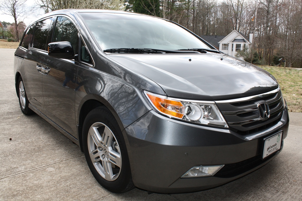 2012 Honda Odyssey Touring Elite Diminished Value Car