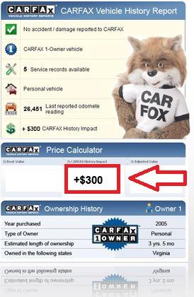 carfax-price-calculator