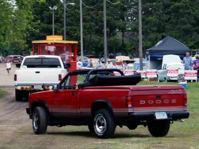 Dodge Dakota Sport Convertible X on 1989 Dodge Ram Blue