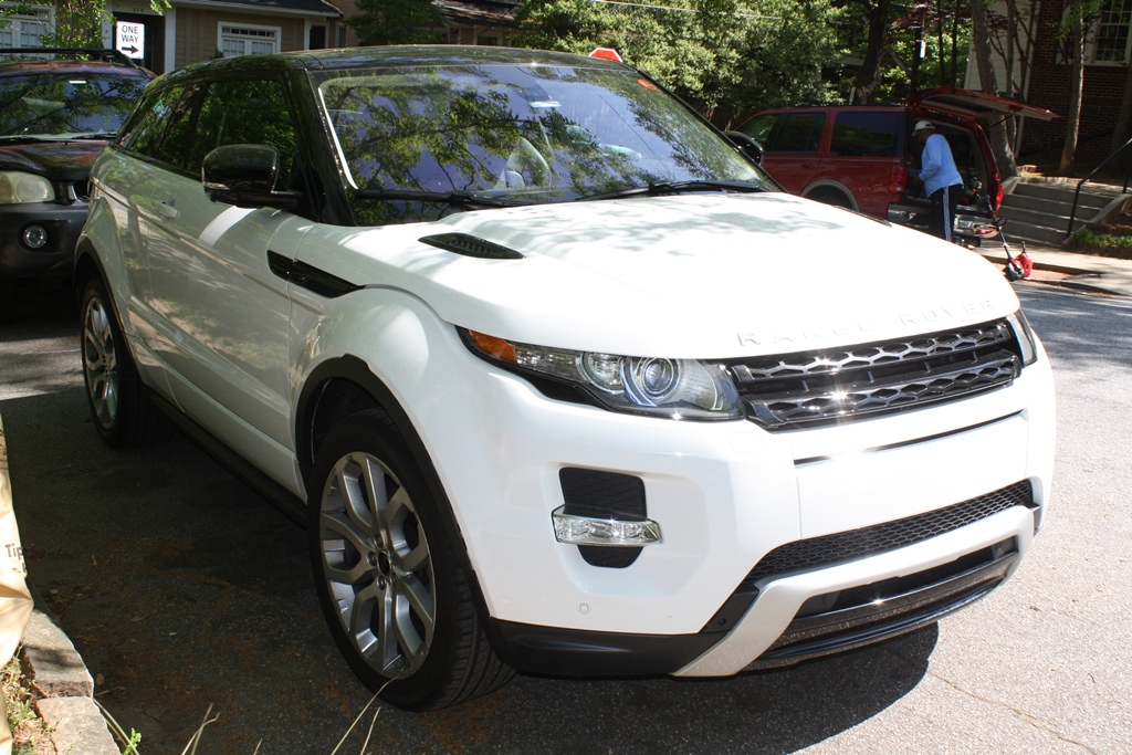 2012 Land Rover Range Rover Evoque Coupe | Diminished ...