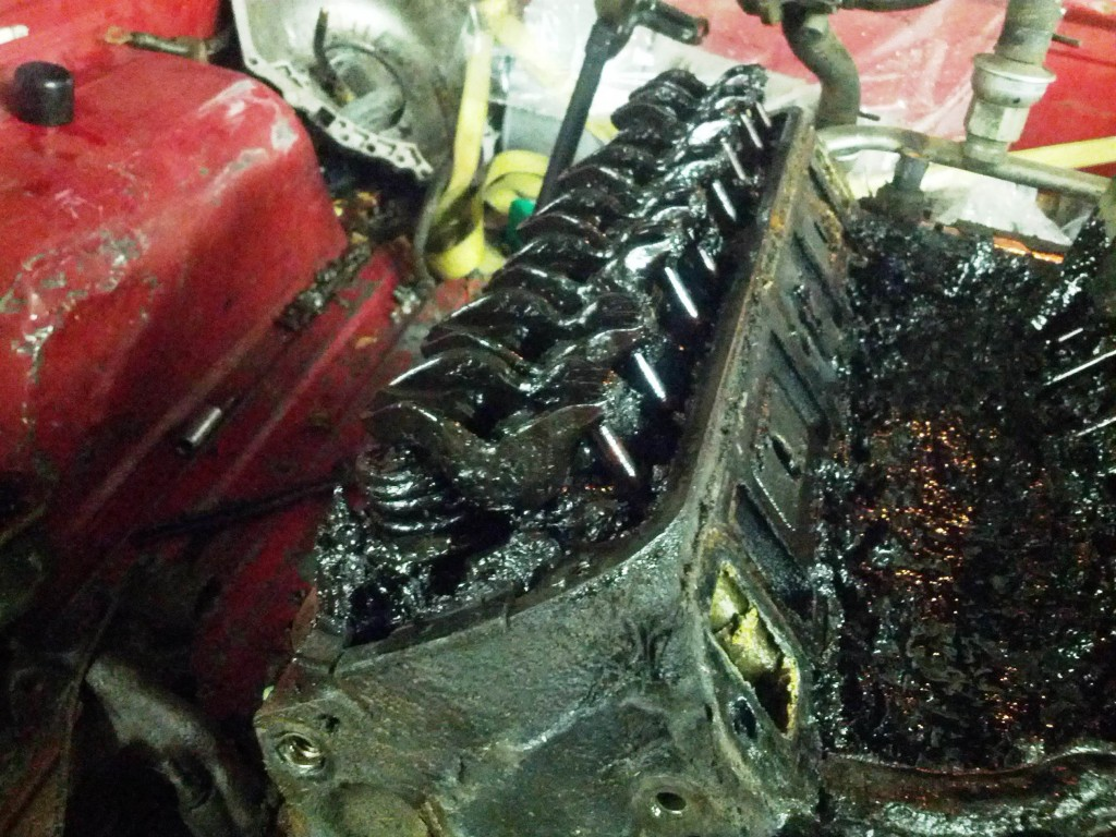 Sludge Up Engine Oil Never Changed 3