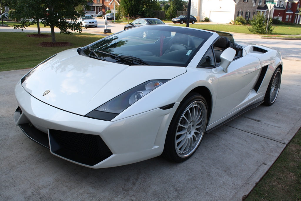 2007 Lamborghini Gallardo Spyder Diminished Value Car