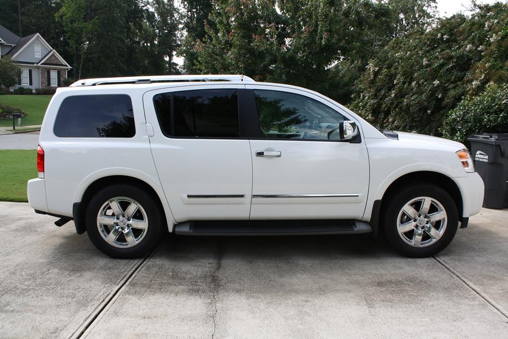 Captivating 2011 Nissan Armada Platinum 4D Utility 4WD | Diminished Value Car Appraisal