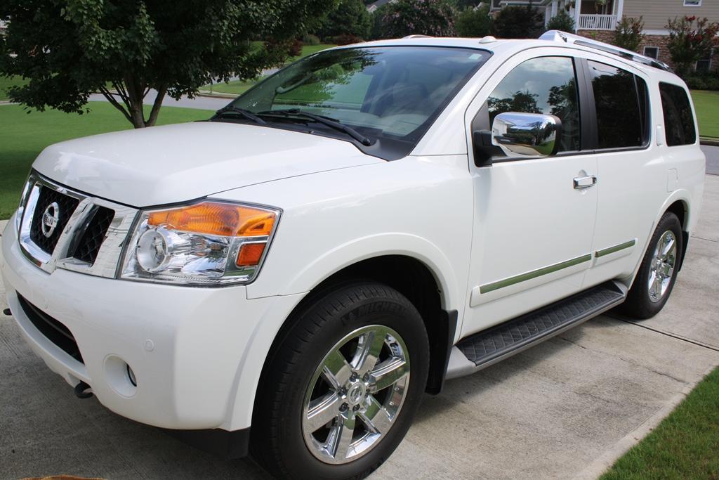 Awesome 2011 Nissan Armada Platinum 4D Utility 4WD