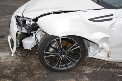2013 Subaru BRZ Totaled