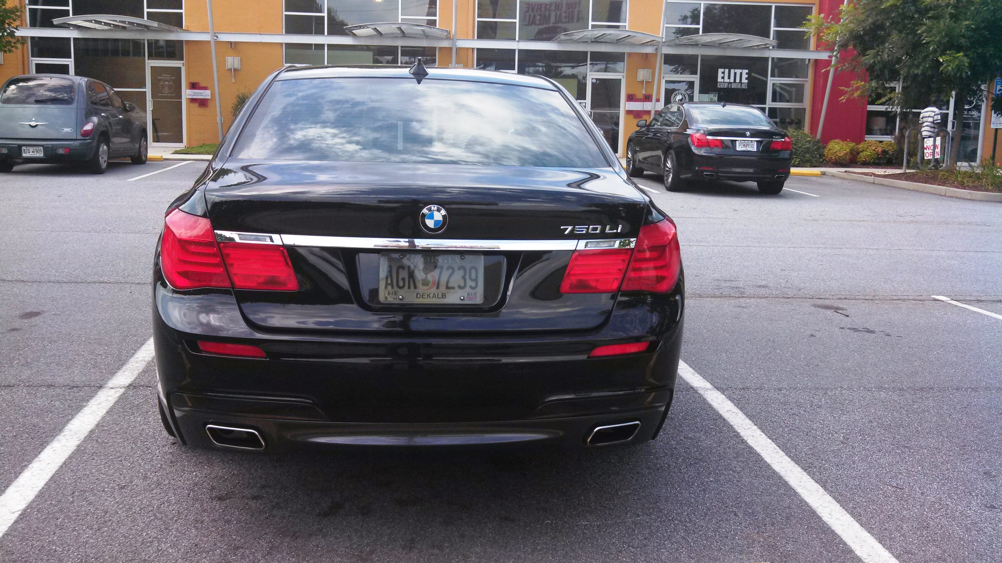 2011 BMW 7 SERIES EFFECTIVE 10 11
