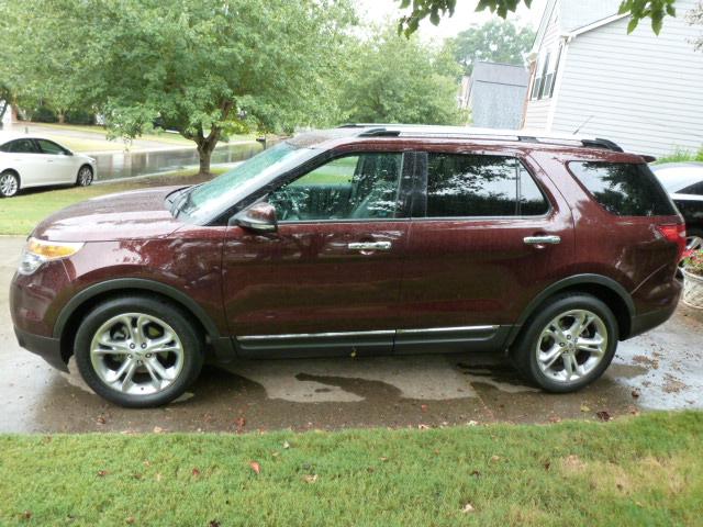 Diminished Value Appraisal >> 2012 Ford Explorer Limited 4D Utility   Diminished Value Car Appraisal