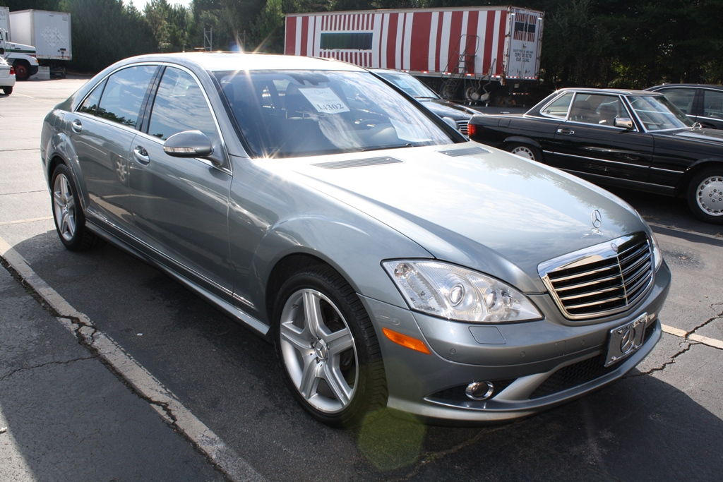 2008 mercedes benz s class s550 4d sedan diminished for Mercedes benz s500 2008