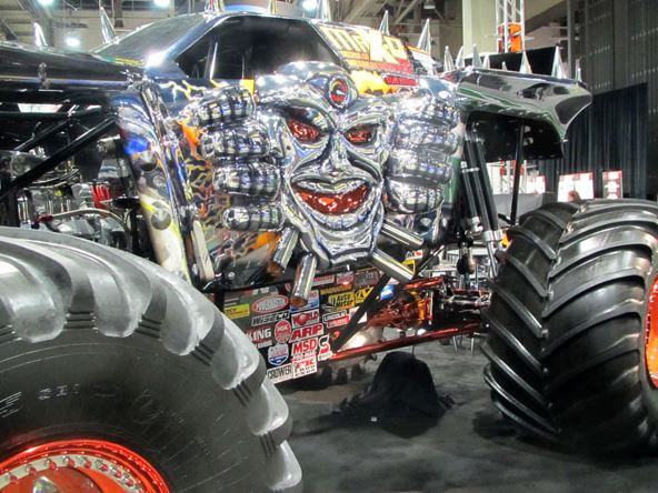 gly Monster Truck SEMA 2014