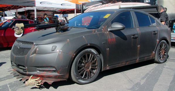 Zombie Hunter Chevy Cruze SEMA 2013