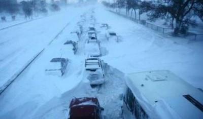 Atlanta-Snow-Highways