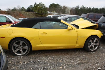 2011 Chevrolet Camaro RS 12