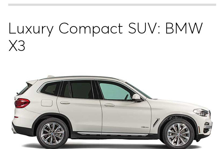 Best Luxury SUV BMW X - Best bmw suv
